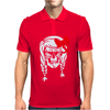 Skull With Pigtails Mens Polo