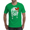 Skull With Pigtails Mens T-Shirt