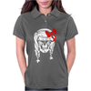 Skull With Pigtails Womens Polo