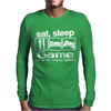 Sleep Game Eating Mens Long Sleeve T-Shirt