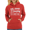 Sleep Game Eating Womens Hoodie