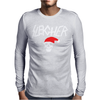 Sleigher Metal Style Xmas Mens Long Sleeve T-Shirt