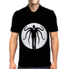 Slender man Slenderman Myth Legend Urban Something Awful Horror Tee Mens Polo