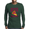 Slice Slice Baby Pizza Tee Mens Long Sleeve T-Shirt