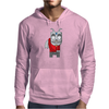 Slightly Shy Devil Mens Hoodie