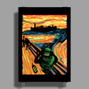 Slimer's Scream Poster Print (Portrait)