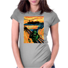 Slimer's Scream Womens Fitted T-Shirt