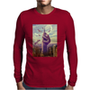 Sloth King Kong Funny Mens Long Sleeve T-Shirt