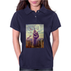 Sloth King Kong Funny Womens Polo