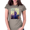 Sloth King Kong Womens Fitted T-Shirt