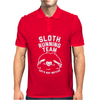 Sloth Running Team Mens Polo