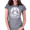 Sloth Running Team Womens Fitted T-Shirt