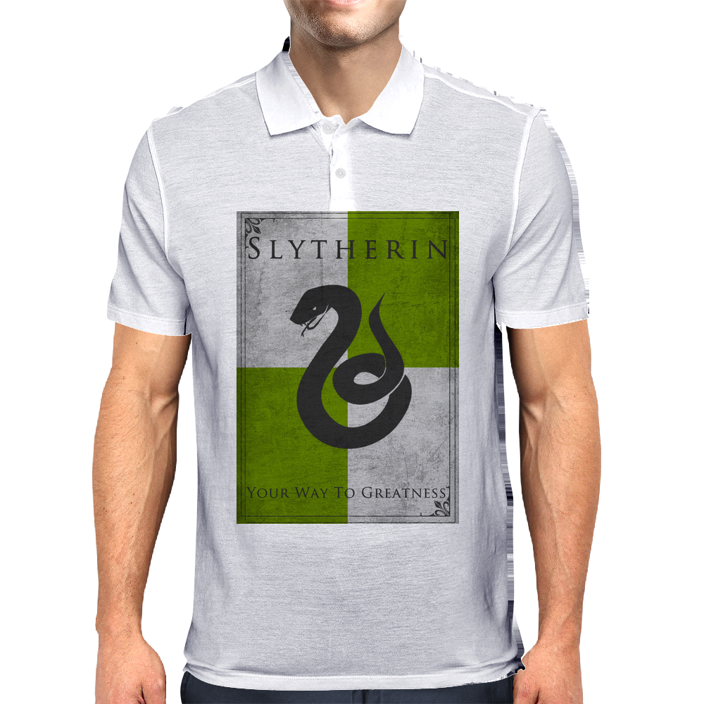 Slytherin Game of Thrones Banner Mens Polo