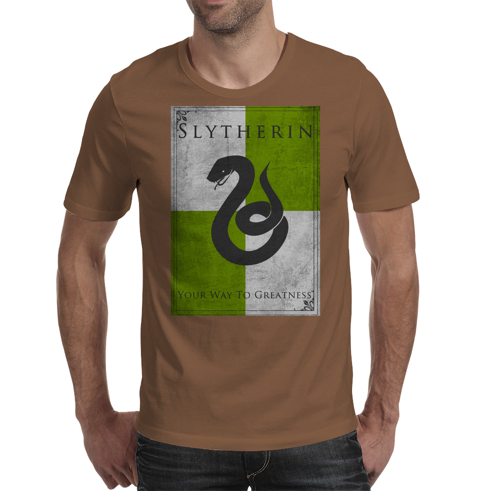 Slytherin Game of Thrones Banner Mens T-Shirt