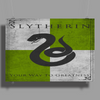Slytherin Game of Thrones Banner Poster Print (Landscape)