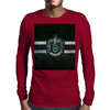 Slytherin Knitted Mens Long Sleeve T-Shirt