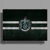 Slytherin Knitted Poster Print (Landscape)