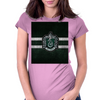 Slytherin Knitted Womens Fitted T-Shirt