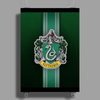 Slytherin Ribbon Poster Print (Portrait)