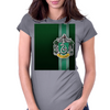 Slytherin Ribbon Womens Fitted T-Shirt