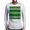 Slytherin Stripes - Thick Mens Long Sleeve T-Shirt