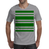 Slytherin Stripes - Thick Mens T-Shirt