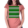 Slytherin Stripes - Thick Womens Fitted T-Shirt