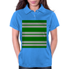 Slytherin Stripes - Thick Womens Polo