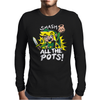 Smash ALL The Pots CLEARANCE Mens Long Sleeve T-Shirt