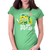 Smash ALL The Pots CLEARANCE Womens Fitted T-Shirt