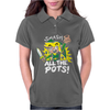 Smash ALL The Pots CLEARANCE Womens Polo