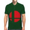 Smash Bros Tribute Unisex Vinyl. Mens Polo