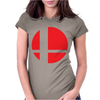 Smash Bros Tribute Unisex Vinyl. Womens Fitted T-Shirt