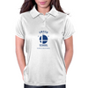 Smash School (Blue) Womens Polo