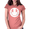 Smiley DJ Love Music Womens Fitted T-Shirt