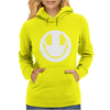 Smiley DJ Love Music Womens Hoodie