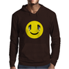 Smiley Headphones Mens Hoodie