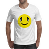 Smiley Headphones Mens T-Shirt