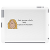 Smiley Lady - Chocolate Lover  Tablet (horizontal)