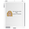 Smiley Lady - Chocolate Lover  Tablet (vertical)