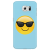 Smiling Face With Sunglasses Cool Emoji Phone Case