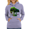 smiling mushrooms Womens Hoodie