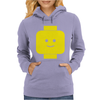 Smily Face Expression Lego Head Womens Hoodie