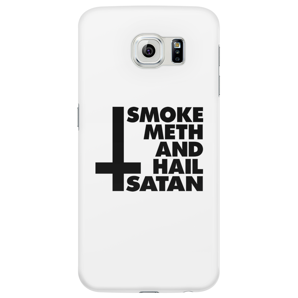 Smoke Meth and hail Satan Phone Case
