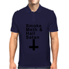 SMOKE METH & HAIL SATAN Mens Polo