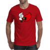 Smoking Cardinal Mens T-Shirt