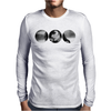 Smoking Girl Mens Long Sleeve T-Shirt