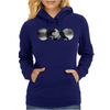 Smoking Girl Womens Hoodie