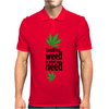 Smoking weed Mens Polo