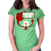 Smombie Selfie Womens Fitted T-Shirt
